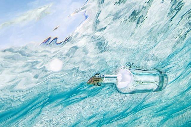 Flaschenpost aus Lörrach gefunden - Absenderin auch