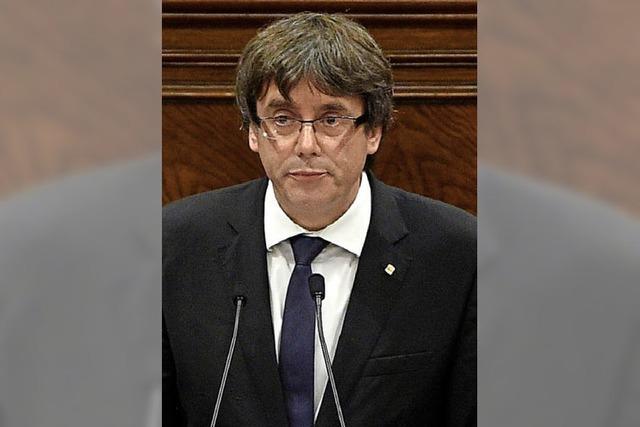 Puigdemont vermeidet Zuspitzung, Merkel äußert sich