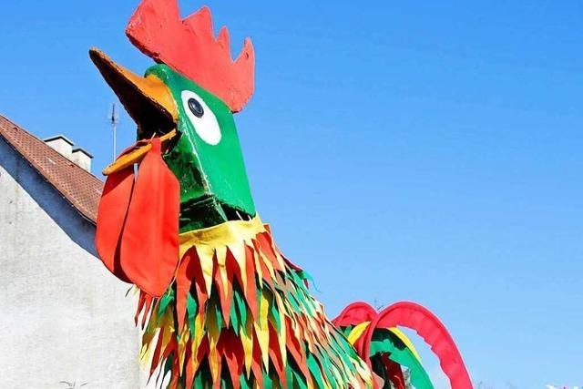 Huhn aus Tumringen verirrt sich in Lörracher Bankfiliale