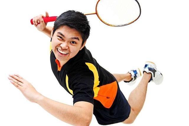 Badminton und Tennis schulen Schnelligkeit und Kondition