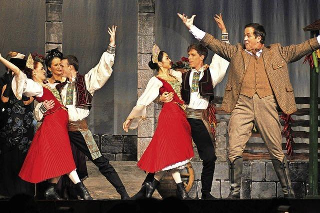 Operette in drei Akten im Gloria-Theater in Bad Säckingen