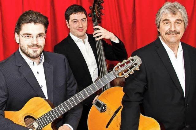 Mit Trio Joscho Stephan in Waldshut-Tiengen