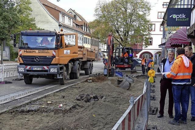 Straßenbau in Kippenheim