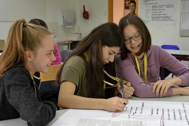 Schüler sorgen für ein florierendes Stuttingen