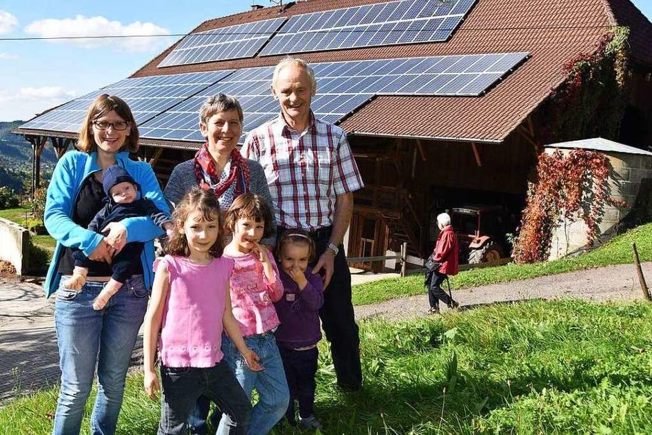 Familie Heizmann besitzt heute den Dilgerhof. (Foto: Max Schuler)
