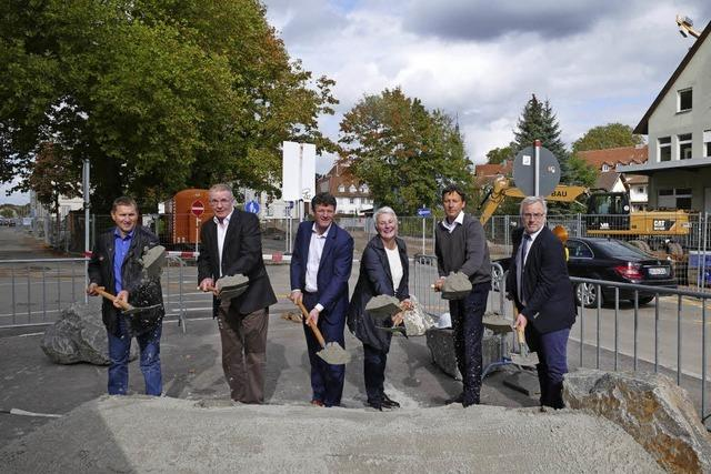 Baubeginn am Kronenplatz