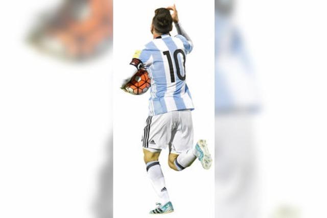 Lionel Messi schießt Argentinien zur WM 2018 in Russland