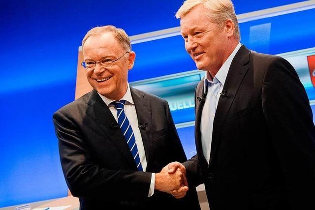 Bissiger Schlagabtausch bei Fernsehduell vor Niedersachsen-Wahl