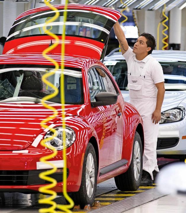 Autos müssen mindestens zur Hälfte in ...uziert werden, lautet eine Forderung.   | Foto: dpa