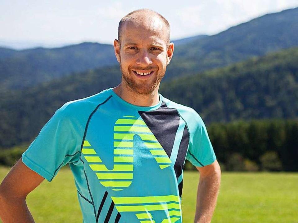 Mann mit langem Atem: Triathlet Marc D...iner Trainingskulisse  im Schwarzwald     Foto: privat