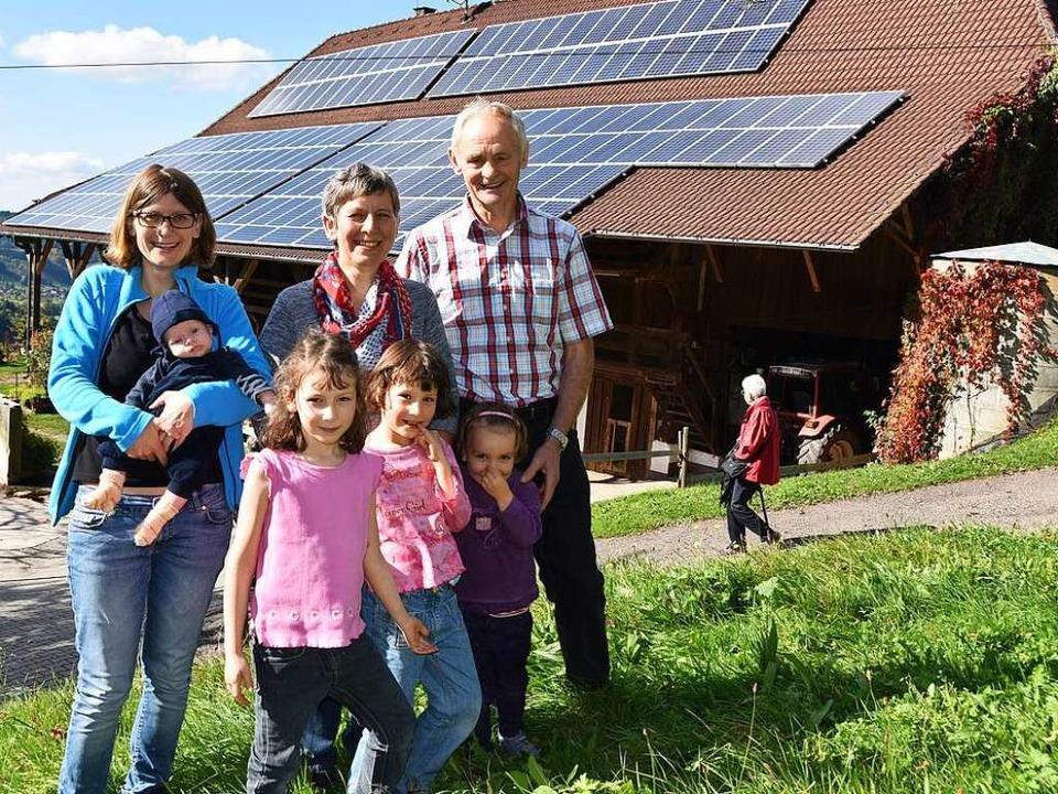 Familie Heizmann bewirtschaftet heute den Dilgerhof im Glottertal.  | Foto: Max Schuler
