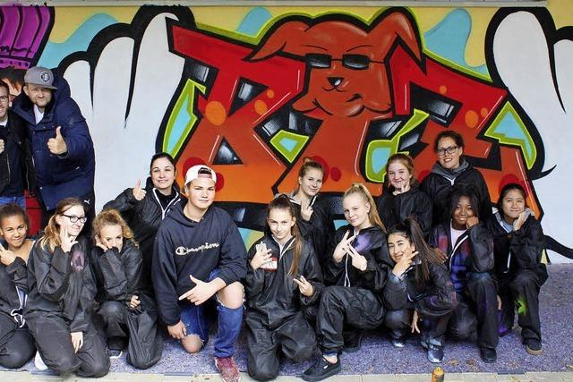 Grelles, großes, griffiges BiZ-Graffiti