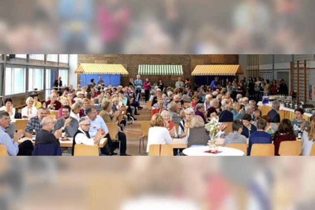 Katholische Pfarrgemeinde sagt Danke