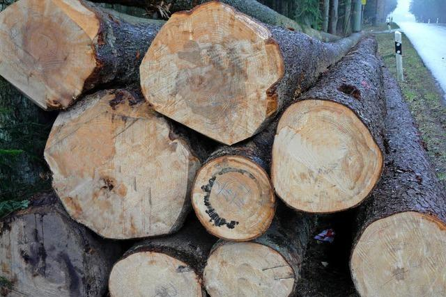 Die Holzpreise bleiben nahezu stabil