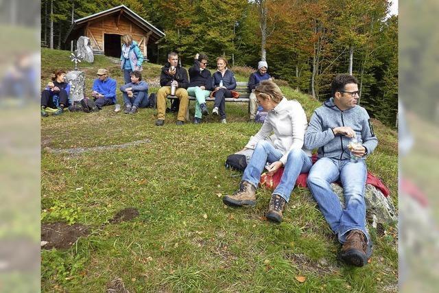UNTERWEGS: Hinauf auf den Kreuzfelsen