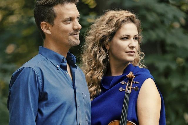 Klavier und Violine im Duett