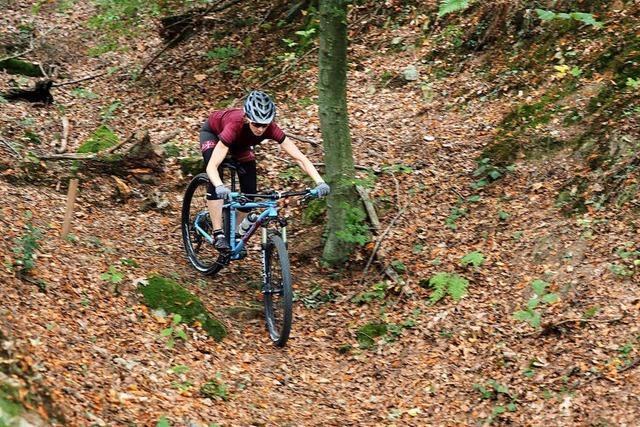 Fotos: Mountainbiken in der Sabine-Spitz-Arena in Bad Säckingen