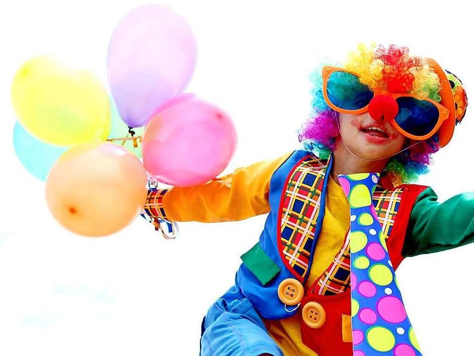 Beim Zirkus immer oberbeliebt: Clown spielen.  | Foto: Natallia Vintsik - Fotolia
