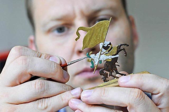 Geschichte im Kleinformat in der Freiburger Zinnfigurenklause
