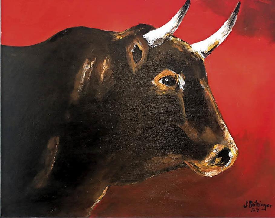 Tierisch: Kunst mit Stier  | Foto: Privat