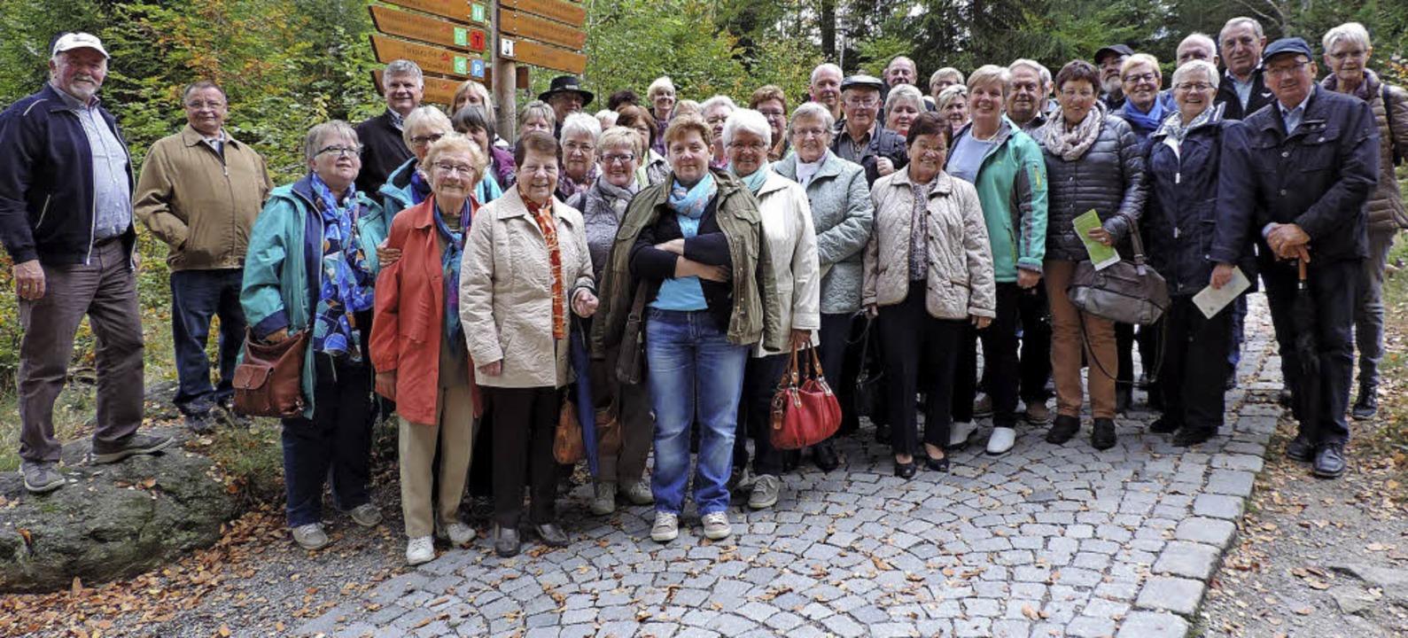 <BZ-FotoAnlauf>Kirchenchor Rust:</BZ-FotoAnlauf> Unterwegs im Bayerischen Wald     Foto: privat