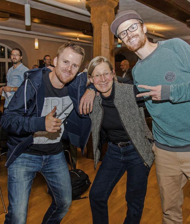 Benefizvortrag zum Thema HipHop-Kultur...ann,  Eva Kimminich und  Till Neumann   | Foto: Olaf Michel