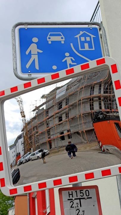 Was baulich im Ort passieren soll,  so...en.  Hier das Neubaugebiet Neumatten.     Foto: Mario Schöneberg