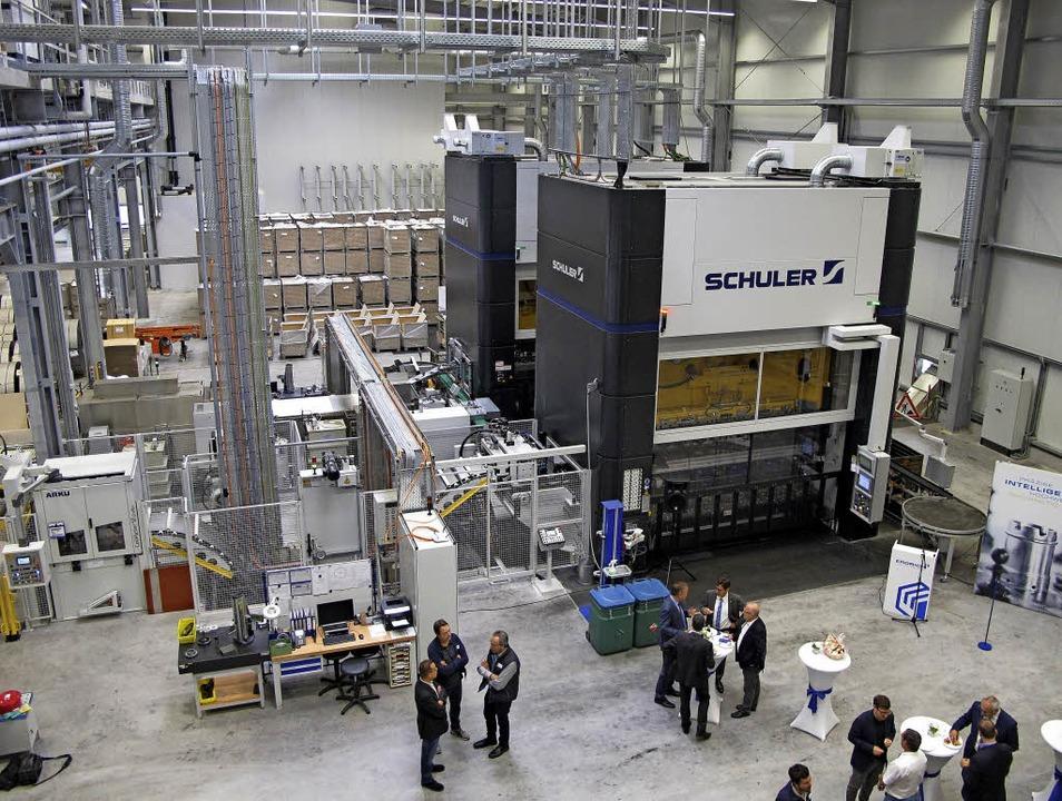 Die neue Halle der Firma Erdrich im Renchener Ortsteil Ulm.     Foto: dvn