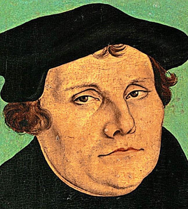 Rund um Martin Luther dreht sich am En...ihe der evangelischen Kirchengemeinde   | Foto: ZVG