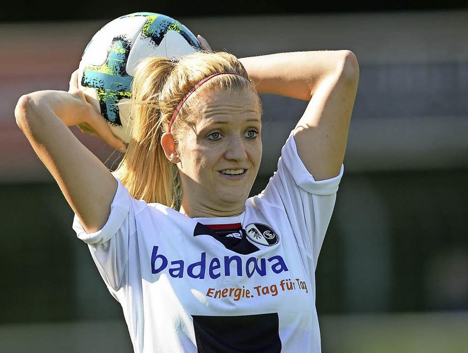 Kim Fellhauer will in dieser Saison en...sbruder verteidigt bei SC Freiburg II.    Foto: Patrick Seeger