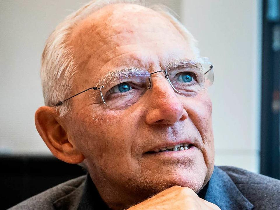 Wolfgang Schäuble ist dienstältester Finanzminister im Kreis der G-20-Länder.    Foto: Michael Kappeler