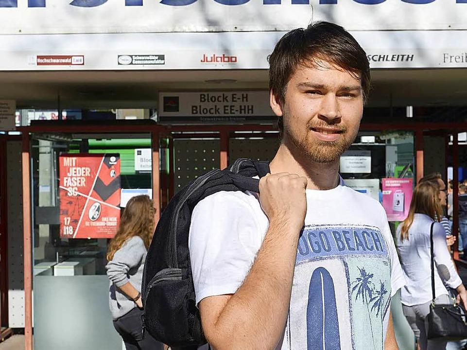 Christian Frey, 20  | Foto: Ingo Schneider