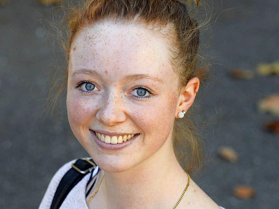 Patricia Graf, 21  | Foto: Ingo Schneider