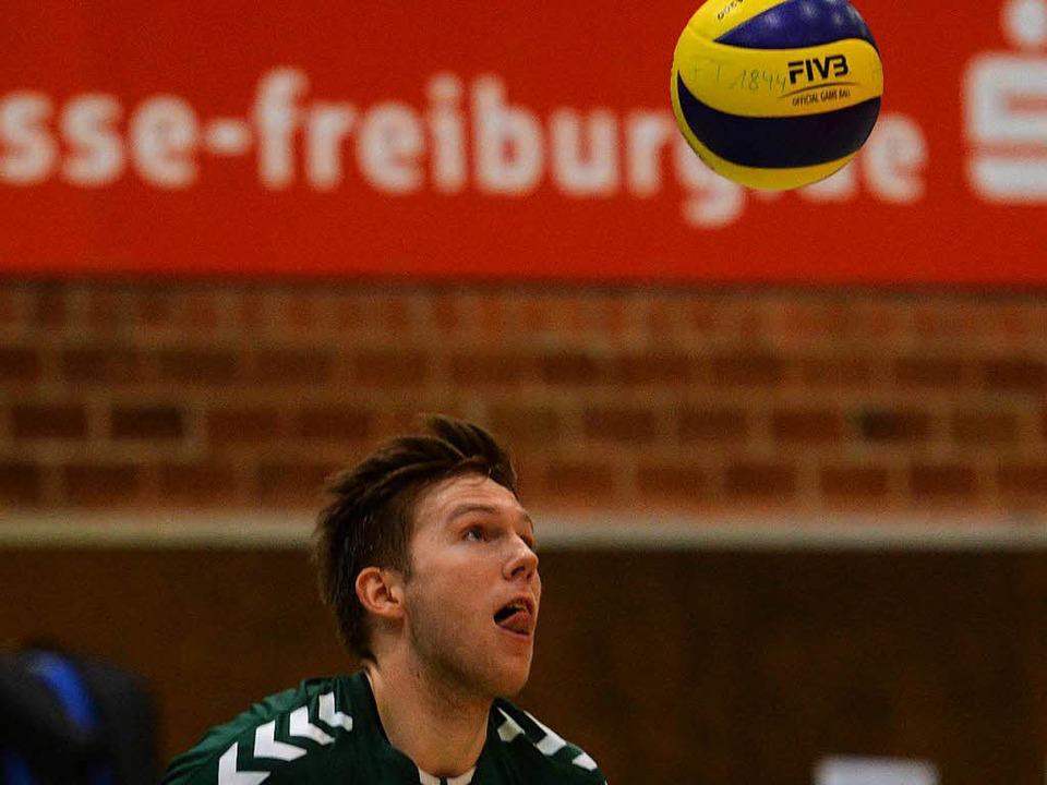Spielte auf ungewohnter Position stark in Leipzig: Oliver Hein  | Foto: Patrick Seeger