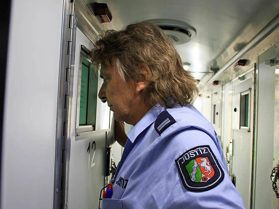 Transportleiter Jörg Walzcak  | Foto: Steve Przybilla