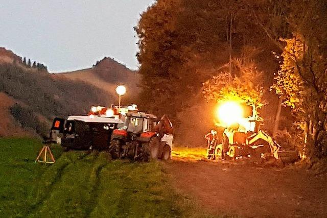 Experten sprengen Granate in Oberried – Anwohner erleichtert