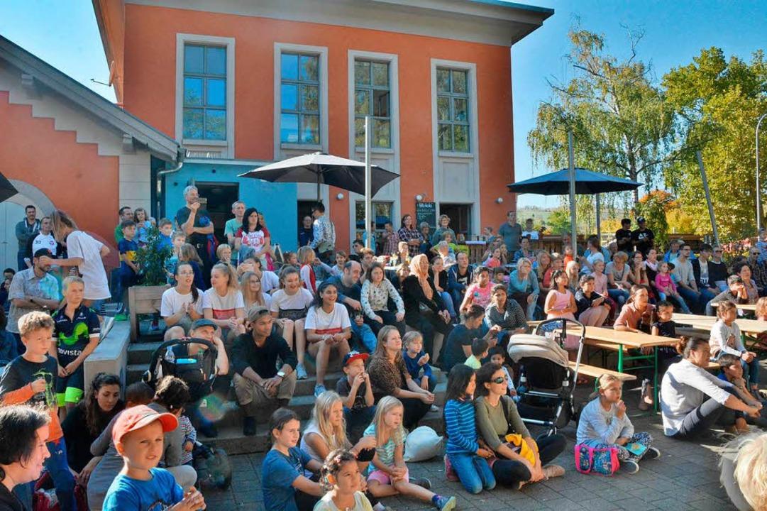 Volles Haus: gut besucht war das Wasserwerkfest.  | Foto: Barbara Ruda