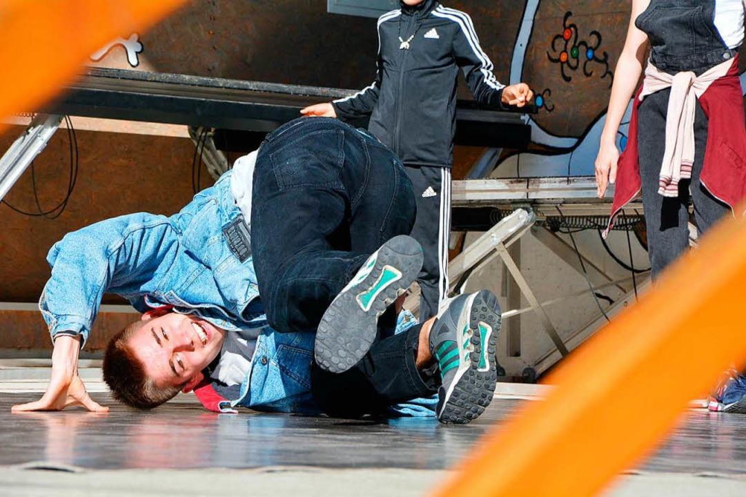 Körpergefühl: Breakdance gehört im Alten Wasserwerk stets zum Programm.  | Foto: Barbara Ruda