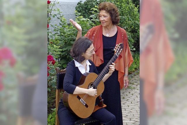 Sigrid Voigt erzählt Geschichten über die Liebe in der Lahrer Dammenmühle