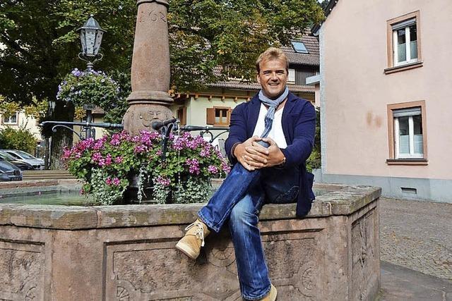 Sänger Rainer Kirsten aus Oberprechtal: