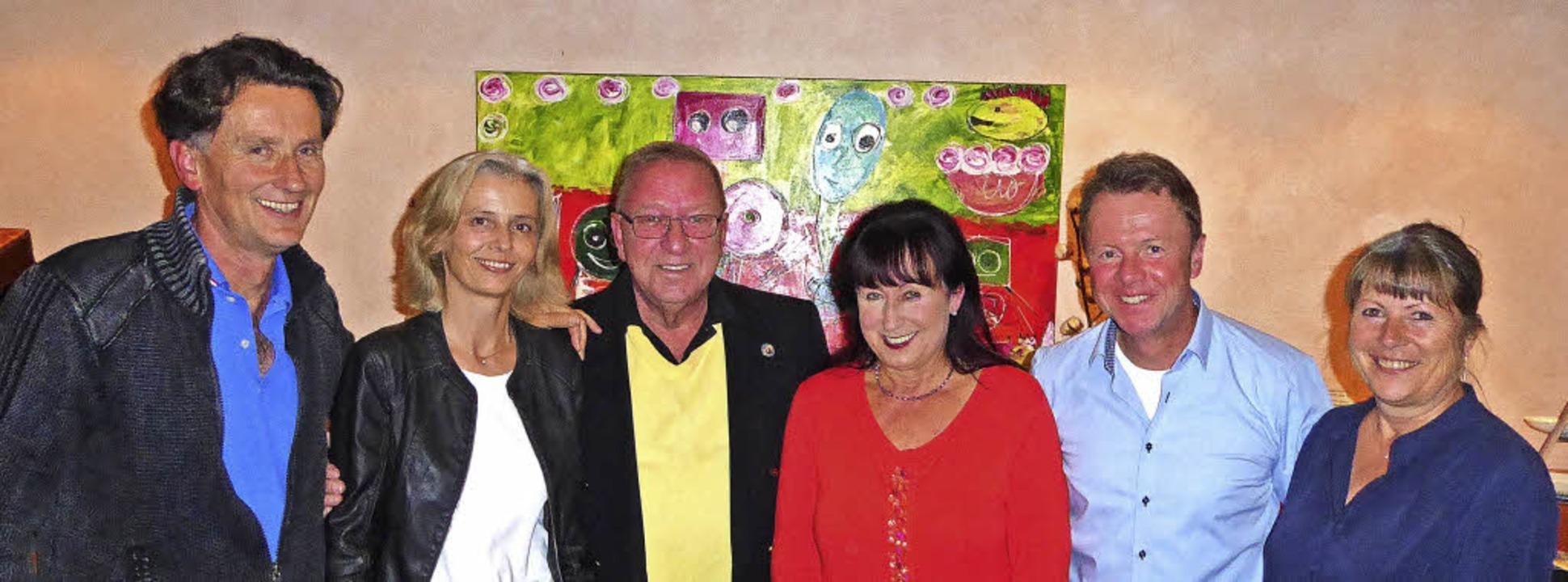 Der bisherige und der neue Vorstand de...nati, Jens Kröger und  Heike Schmarje   | Foto: Privat