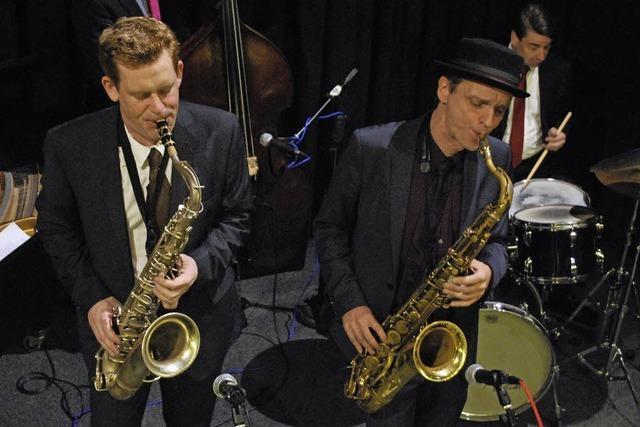 Duell der härtesten Tenöre auf den Saxophonen