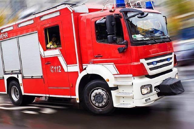 Grüne Dreisam, Gasexplosion, Brand: Reichlich Arbeit für Freiburger Feuerwehr