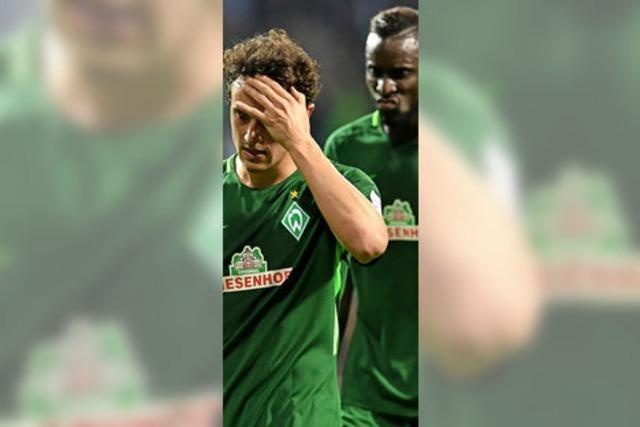 Achtes Saisonspiel und wieder kein Werder-Sieg