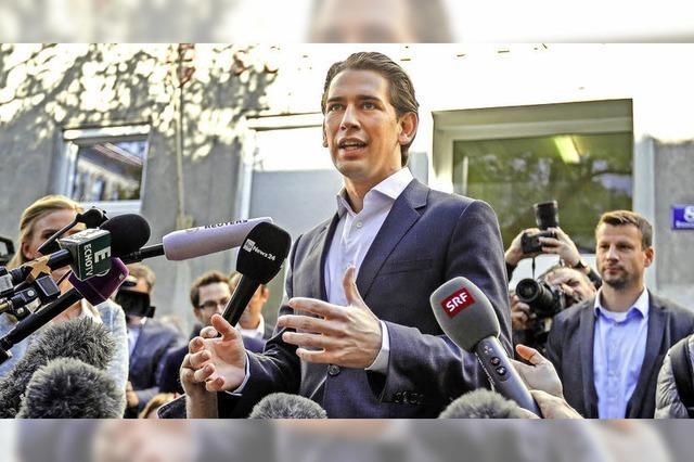 Sebastian Kurz holt mit ÖVP knappen Wahlsieg und wird wohl Kanzler