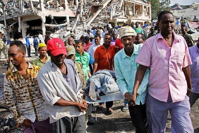 Mehr als 275 Tote bei Anschlag in Somalias Hauptstadt