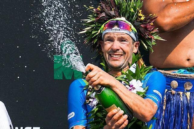 Triathlet Lange gewinnt den legendären Ironman auf Hawaii