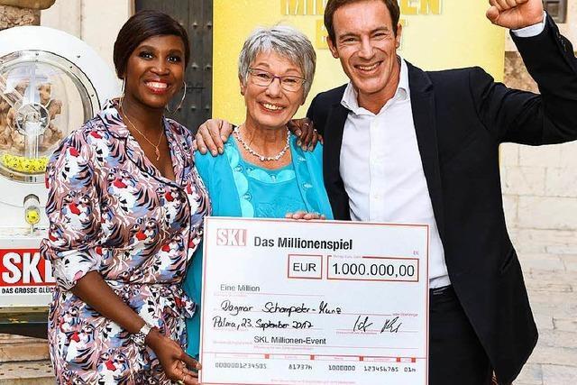 Freiburgerin gewinnt eine Million Euro