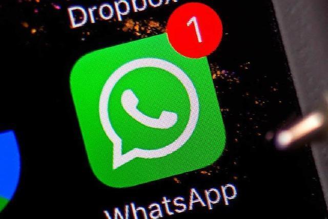 Per WhatsApp mit dem Bürgermeister chatten