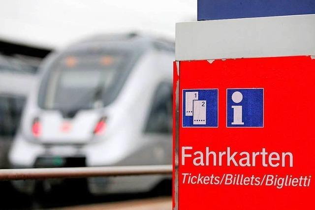 Bahn erhöht Preise – aber nicht auf der Rheintalstrecke